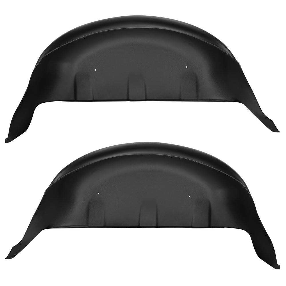 Husky Liners Rear Wheel Well Guards Fits 17 18 F250 350 79131 The Home Depot