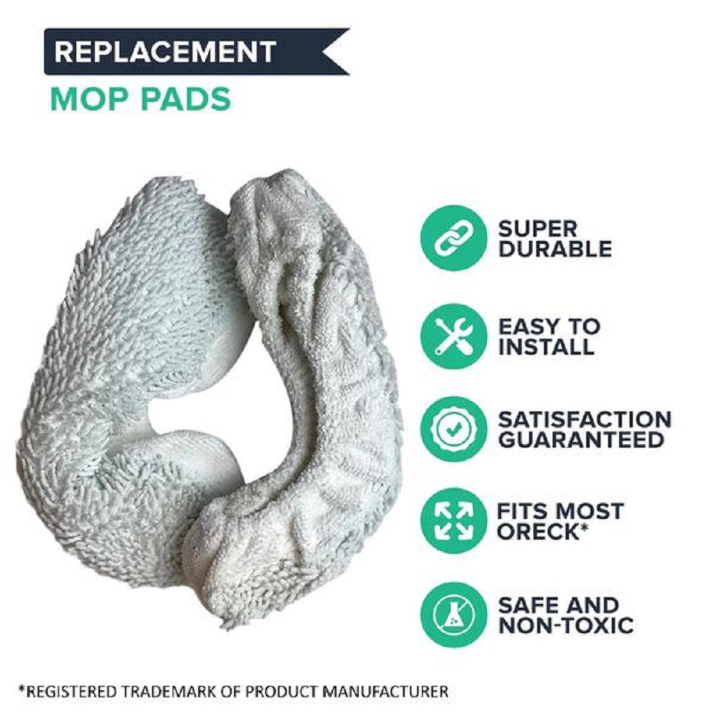 Mop Pad Kit Replacement For Oreck Steam