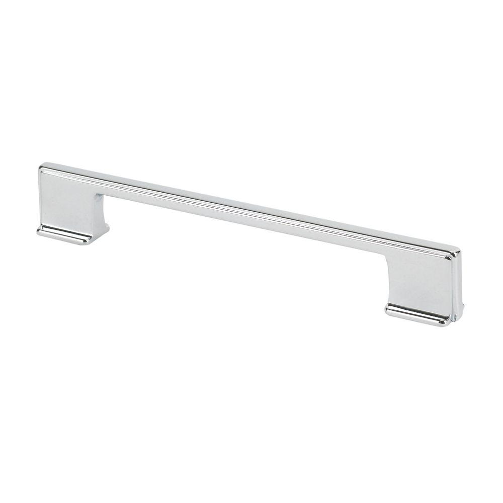 TOPEX Italian Designs Collection 6.6 in. Thin Chrome Cabinet Pull ...