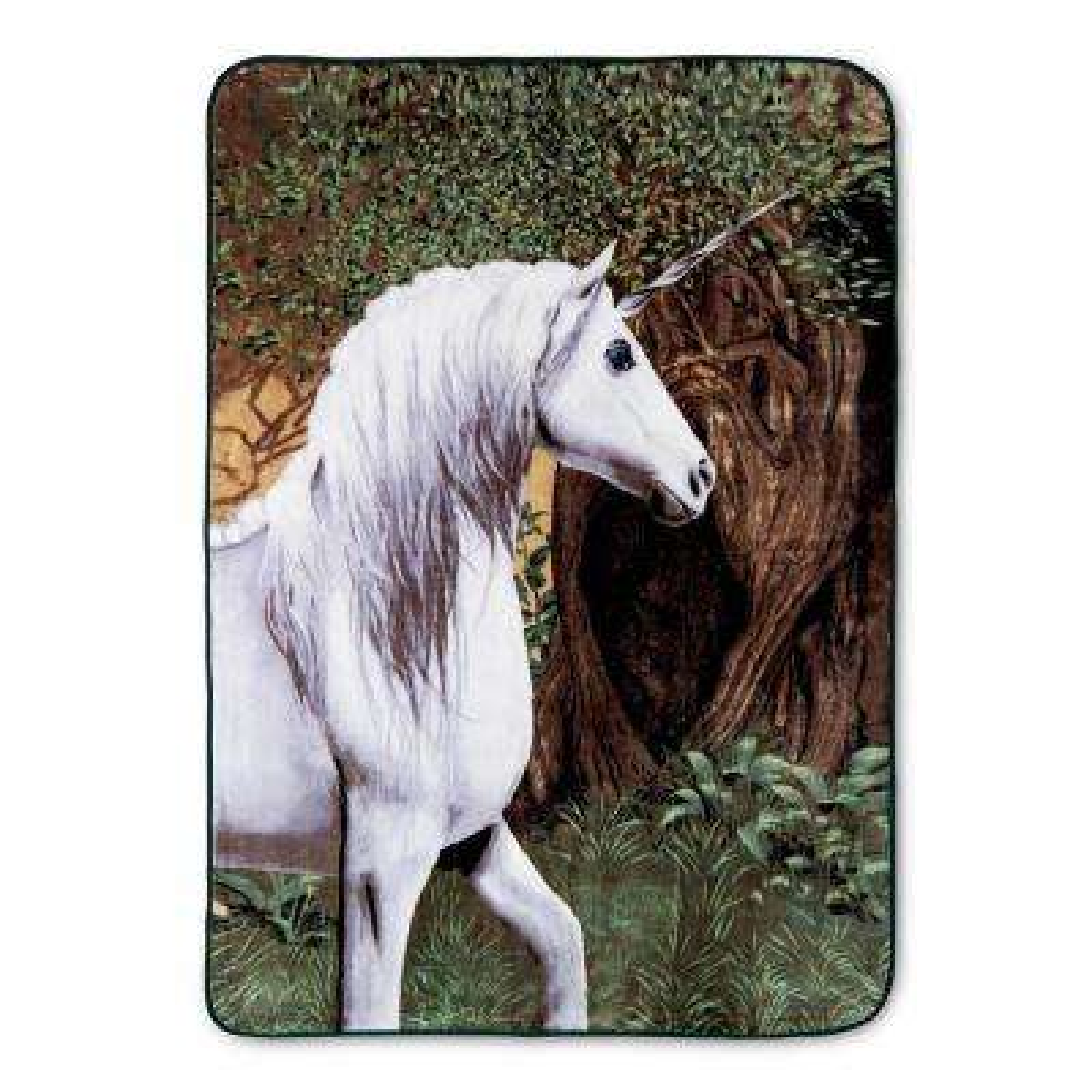 Hi Pile Unicorn 60 in. x 80 in. Oversize Throw
