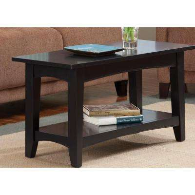 Shaker Cottage Charcoal Gray Storage Bench