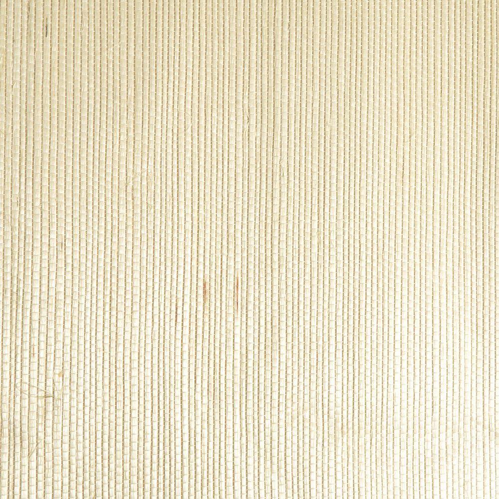 Martina Cream Grasscloth Wallpaper Sample