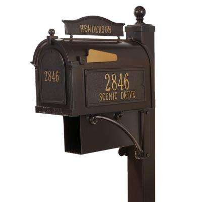 Ultimate French Bronze Streetside Mailbox