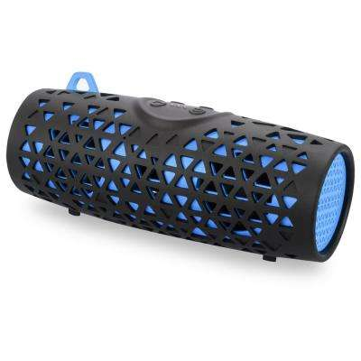 Water and Sand proof Bluetooth Speaker IP66, Blue