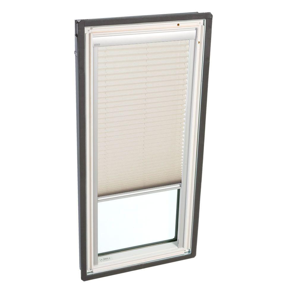 Classic Sand Manual Light Filtering Skylight Blinds for FS D26 and