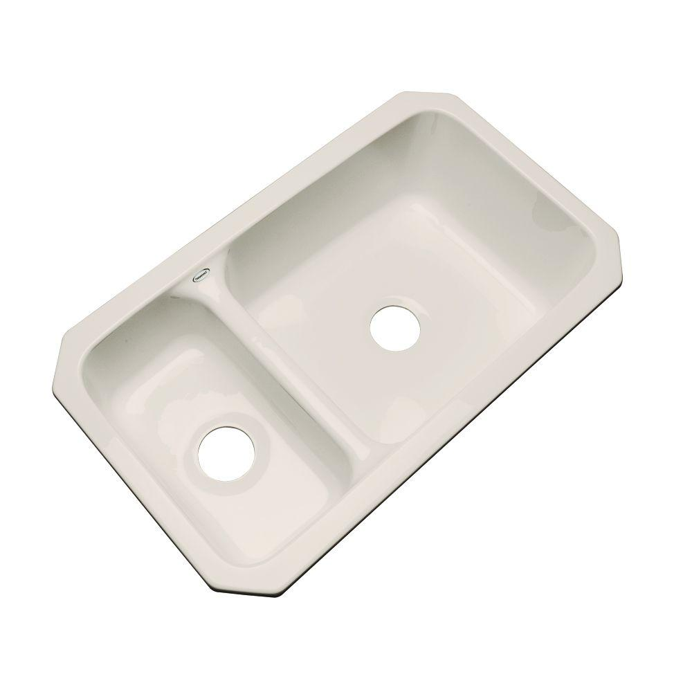 acrylic undermount kitchen sinks thermocast wyndham undermount acrylic 33 in bowl 3980