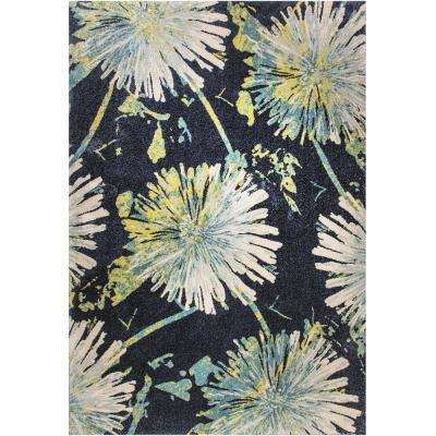Fusion Dandelions Multi 5 ft. x 8 ft. Indoor Area Rug