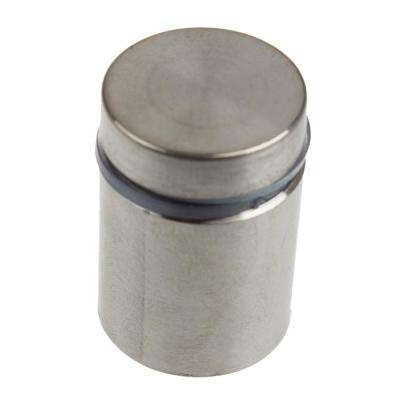 3/4 in. Dia x 3/4 in. L Stainless Steel Standoffs for Signs (4-Pack)