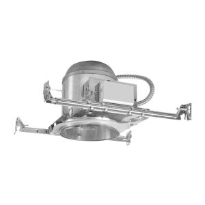 Aluminum CFL Recessed Lighting Housing for New Construction Ceiling Insulation Contact  sc 1 st  The Home Depot & Halo H572 5 in. Aluminum CFL Recessed Lighting Housing for New ... azcodes.com