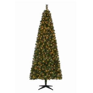 pre lit led alexander pine quick set artificial christmas tree with - Classic Christmas Tree Decorations