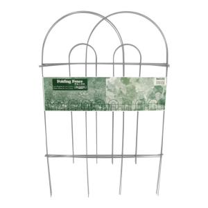 32 in. x 10 in. Galvanized Steel Fence Panel (50-Pack)
