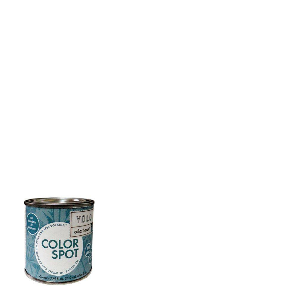 YOLO Colorhouse 8 oz. Bisque .01 ColorSpot Eggshell Interior Paint Sample-DISCONTINUED