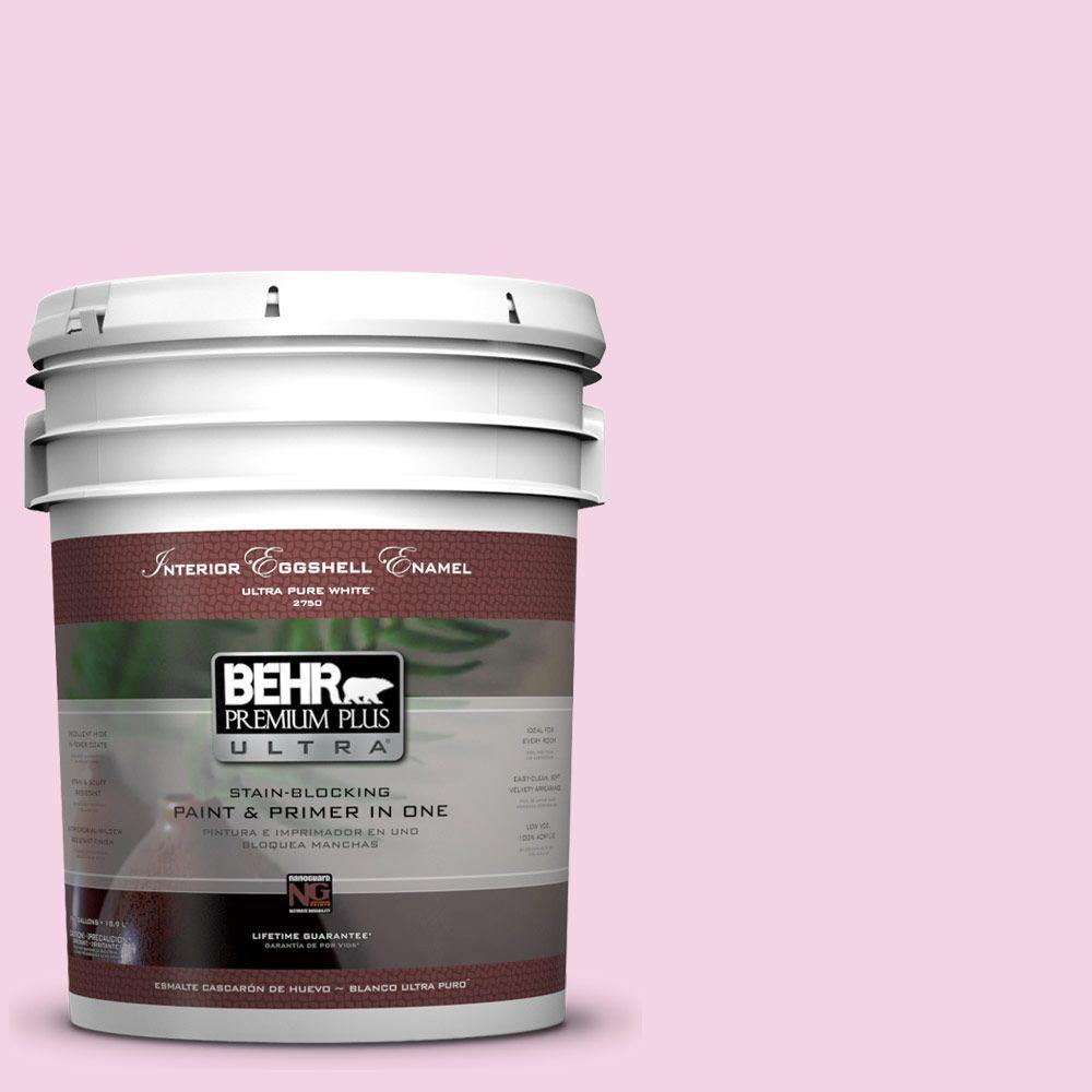 BEHR Premium Plus Ultra 5-gal. #690A-2 Hopeful Eggshell Enamel Interior Paint