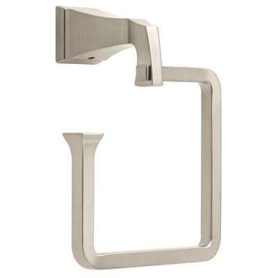 Dryden Open Towel Ring in Brilliance Stainless