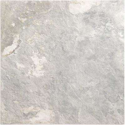 Bantame Silver 24 in. x 24 in. x 10.5mm Semi-Polished Porcelain Floor and Wall Tile (3 pieces / 11.83 sq. ft. / box)