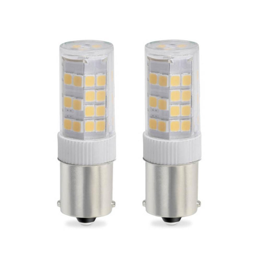 35-Watt Equivalent T4 Dimmable Single-Contact Bayonet LED Light Bulb Soft White