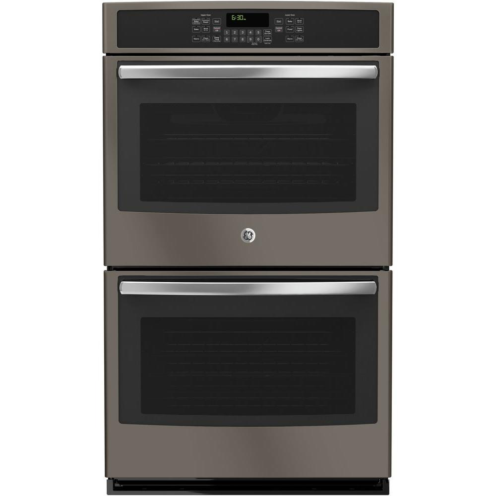30 in. Double Electric Wall Oven Self-Cleaning with Convection (Upper Oven)