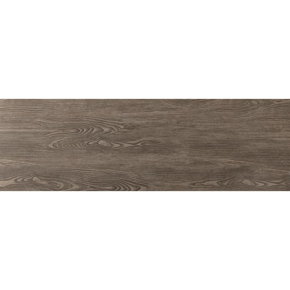 Emser Alpine Espresso 6 in. x 36 in. Porcelain Floor and Wall Tile ...