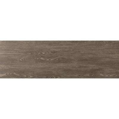 Alpine Espresso 6 in. x 36 in. Porcelain Floor and Wall Tile (8.7 sq. ft. / case)