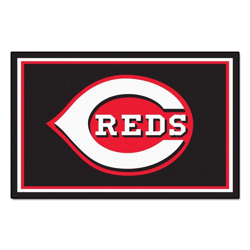 Cincinnati Reds 5 ft. x 8 ft. Area Rug