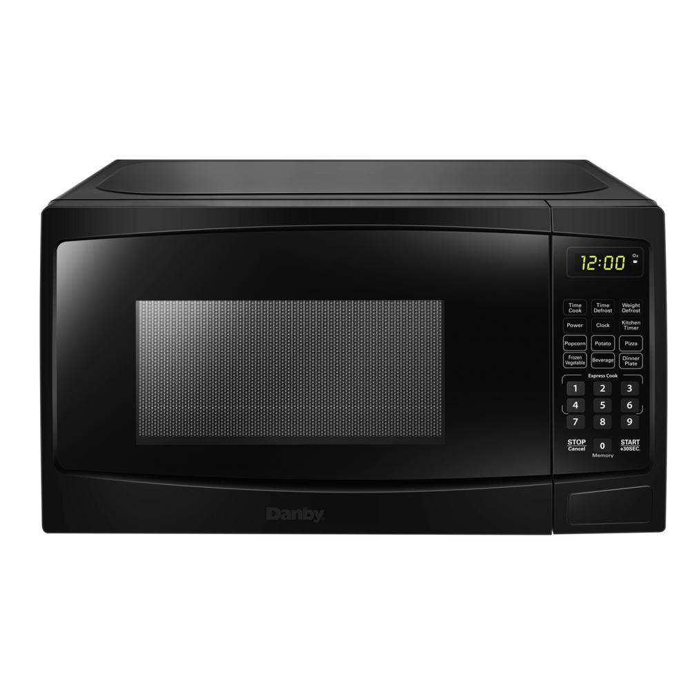 Danby 0 9 Cu Ft Countertop Microwave In Black