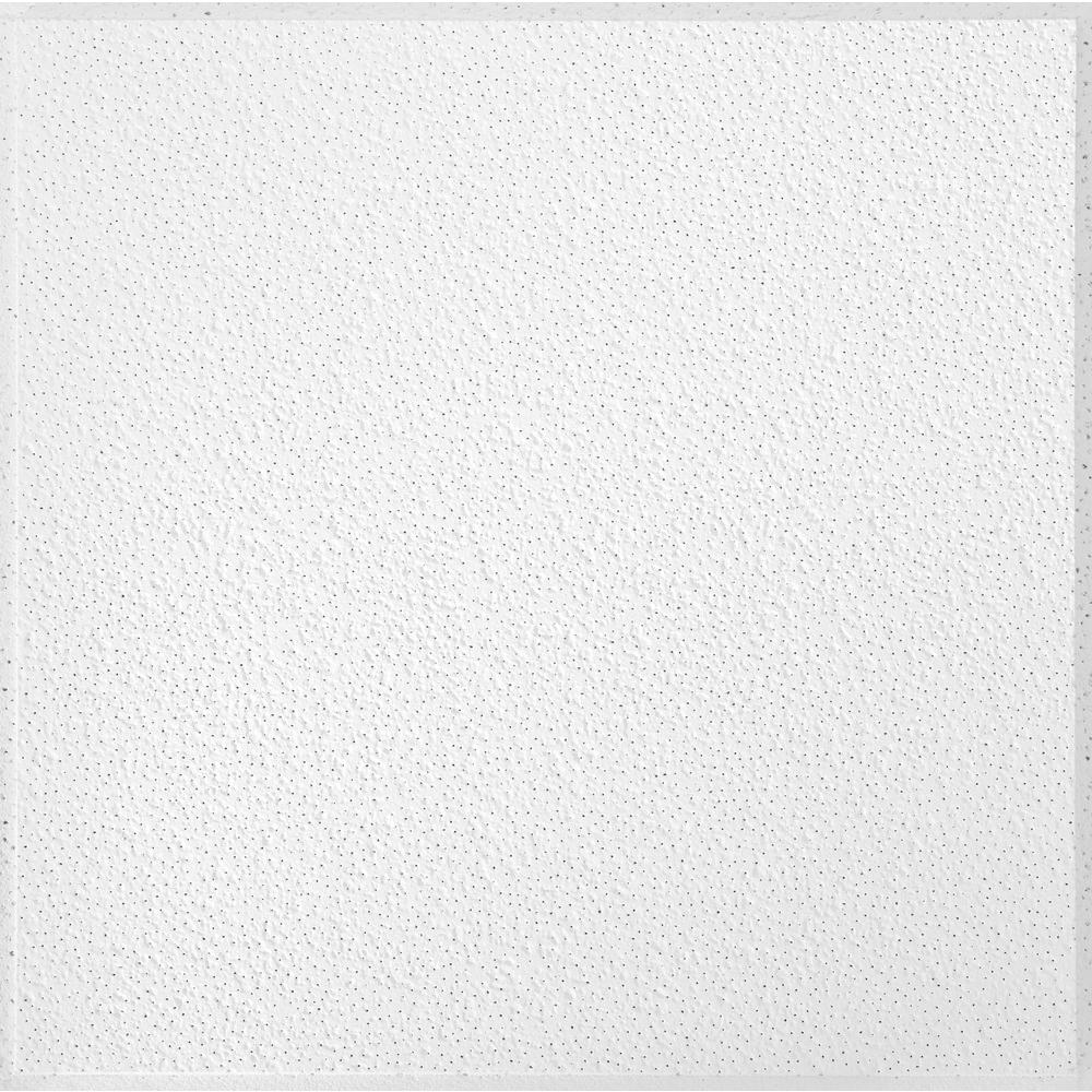 Armstrong Brighton 2 ft. x 2 ft. White Suspended Grid Ceiling Panel