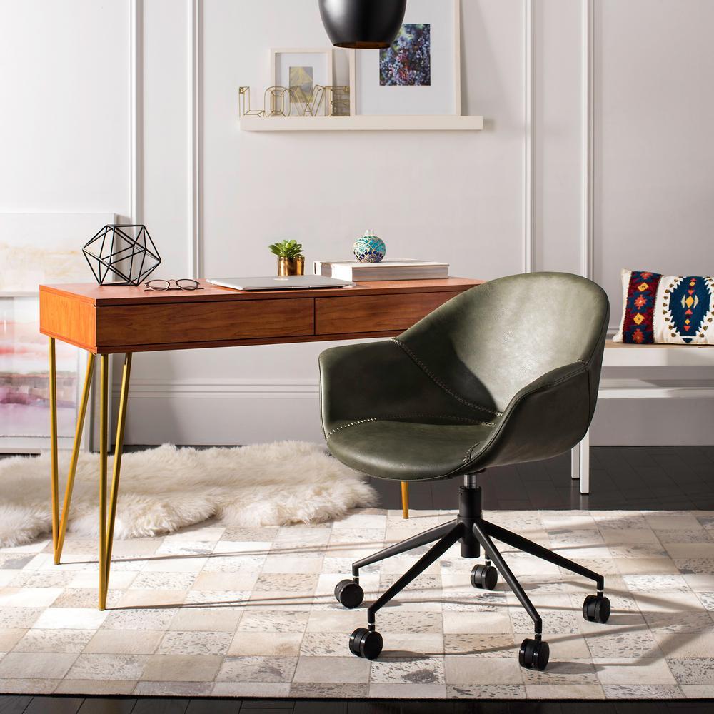 Ember Green/Black Office Chair