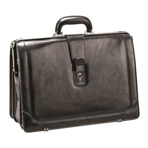 Luxurious Italian Leather Brown Briefcase for 17 inch Laptop by
