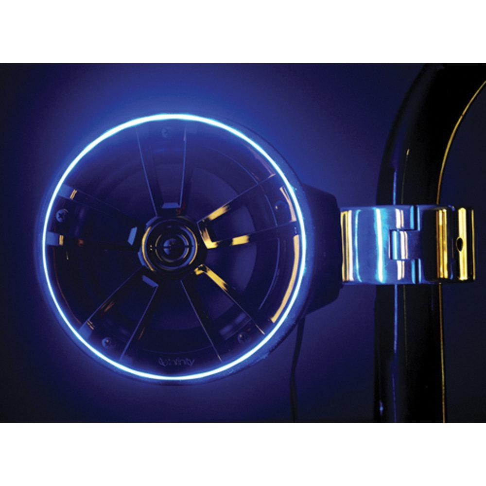 LED Speaker Accent Ring in Blue