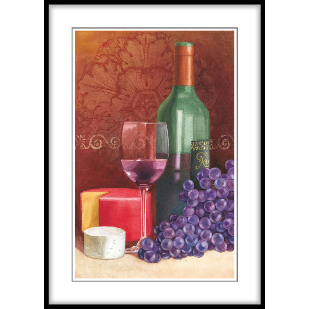 Ptm Images 975 In X 1175 In Wine And Purple Grapesframed Wall