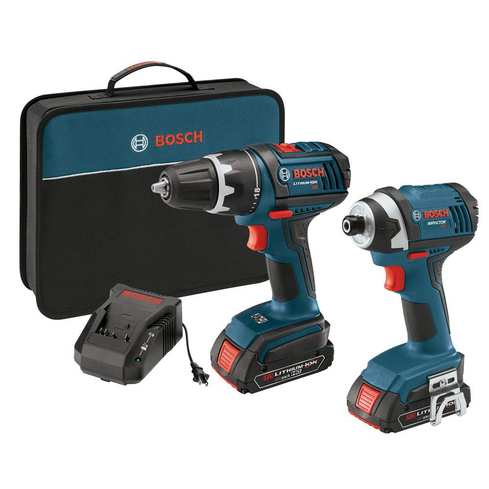 Factory Reconditioned 18-Volt Lithium-Ion Cordless 1/2 in. Drill Driver and