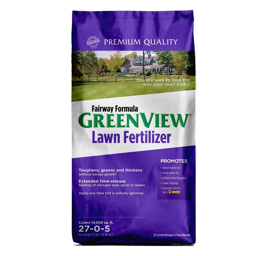 GreenView 33 lbs. Fairway Formula Lawn Fertilizer