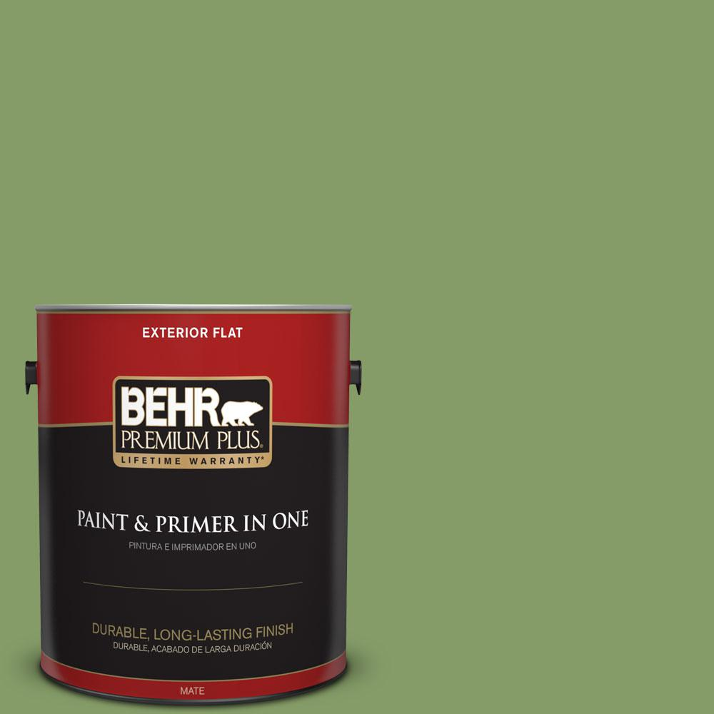 1-gal. #M370-5 Agave Plant Flat Exterior Paint