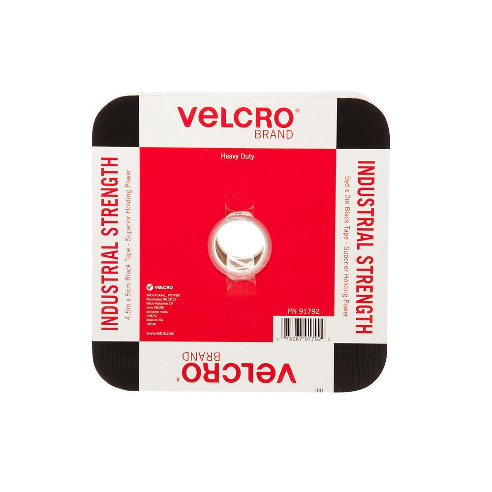 15 ft. x 2 in. Industrial Strength Tape in Black
