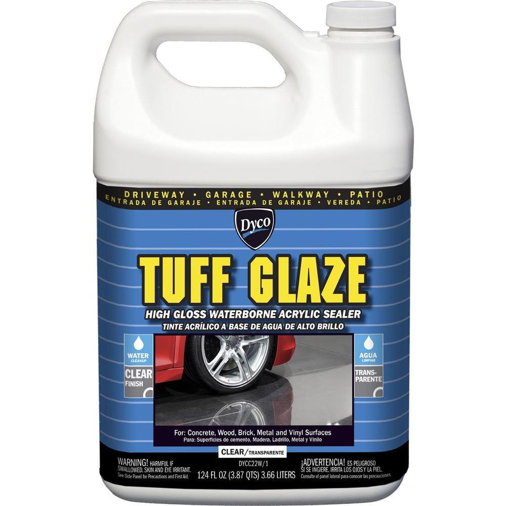 Tuff Glaze 1 gal. C22W Clear High Gloss Waterborne Acrylic Sealer