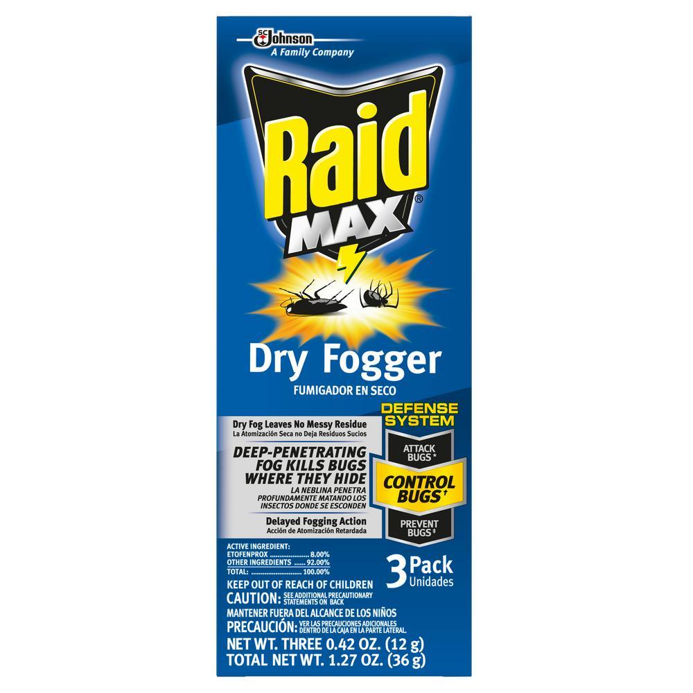 0.42 oz. Fresh Scent Dry Fogger (3-Pack)