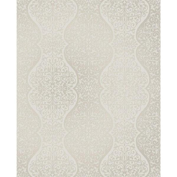 Brewster Cadence Grey Scroll Wallpaper 2683-23017