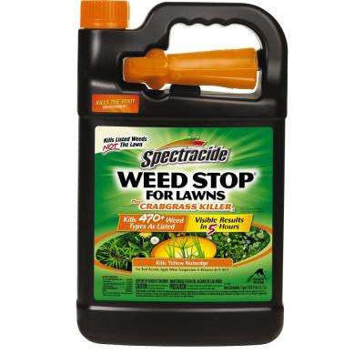 Weed Stop for Lawns 128 oz. Ready-To-Use Weed Plus Crabgrass Killer