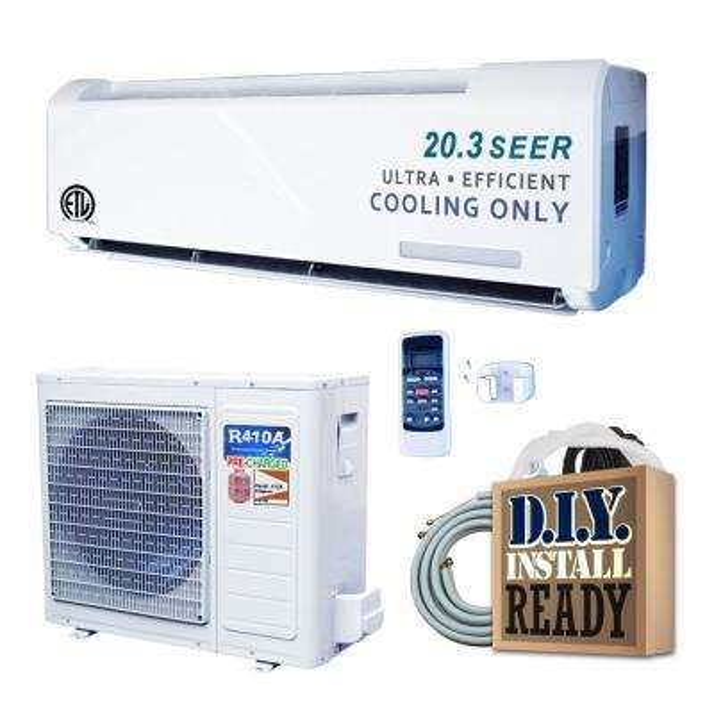 GCO Series 18,000 BTU 1.5 Ton Inverter Ductless Mini Split Air Conditioner Only - 220-Volt/60Hz