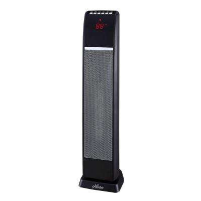 30 in. 1500-Watt Digital Ceramic Tower Heater with Remote Control