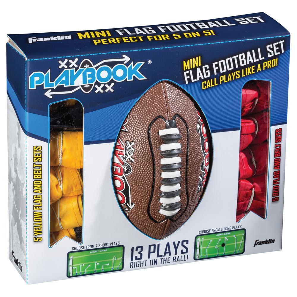 Franklin Sports Mini Playbook Flag Football Set-33024 - The Home Depot 9b1851e53