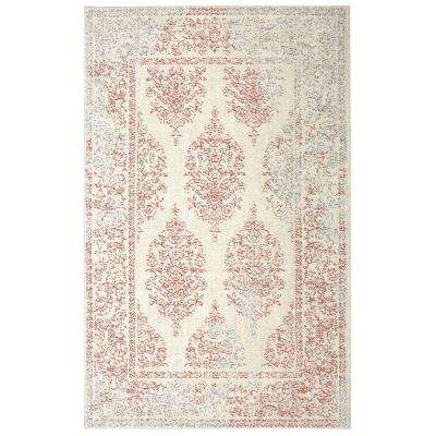 Paxton Coral 5 ft. x 8 ft. Area Rug
