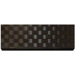 Multy Home Black Rubber 9 In X 24 In Square Stair Tread