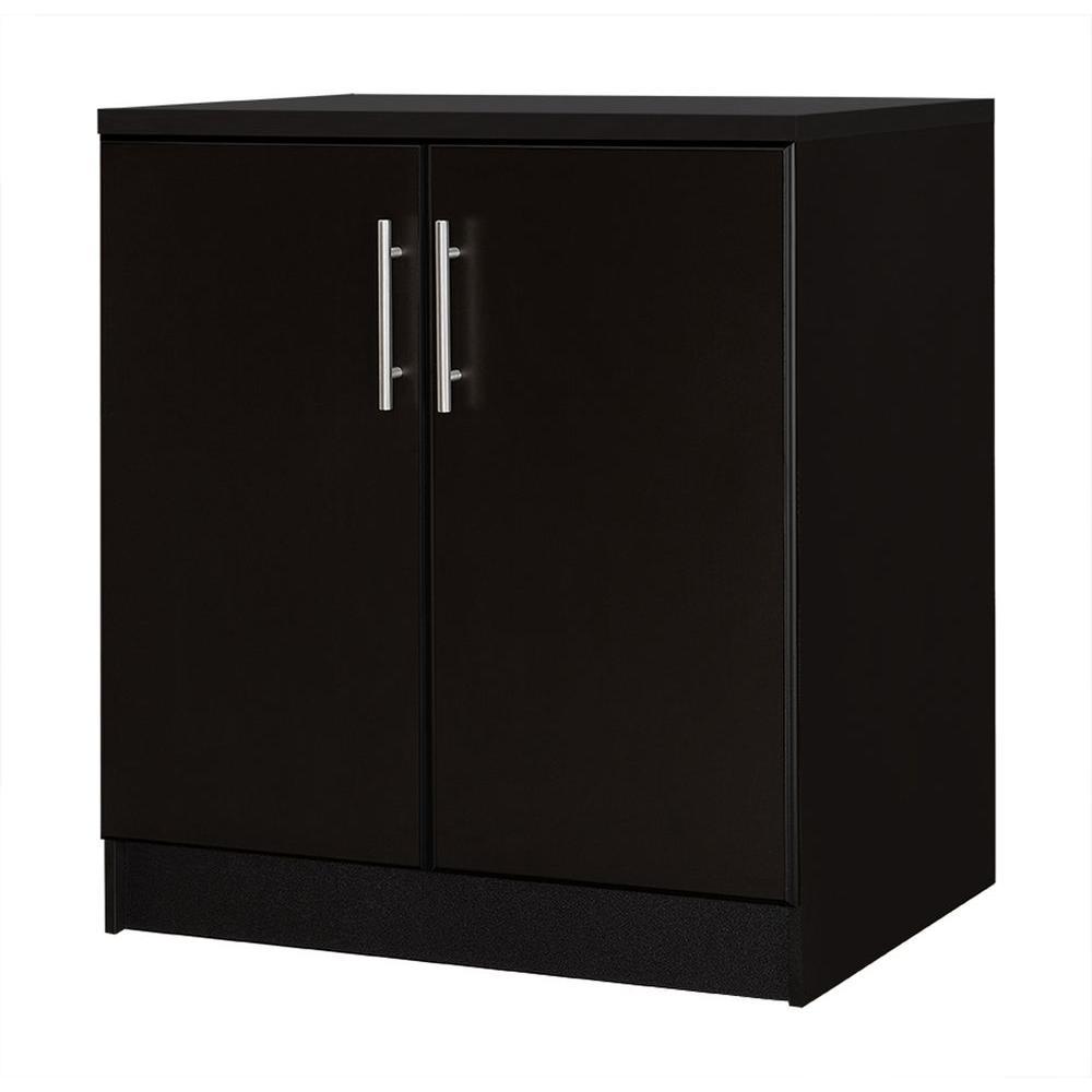 36 in. H 2-Door Base Cabinet in Espresso