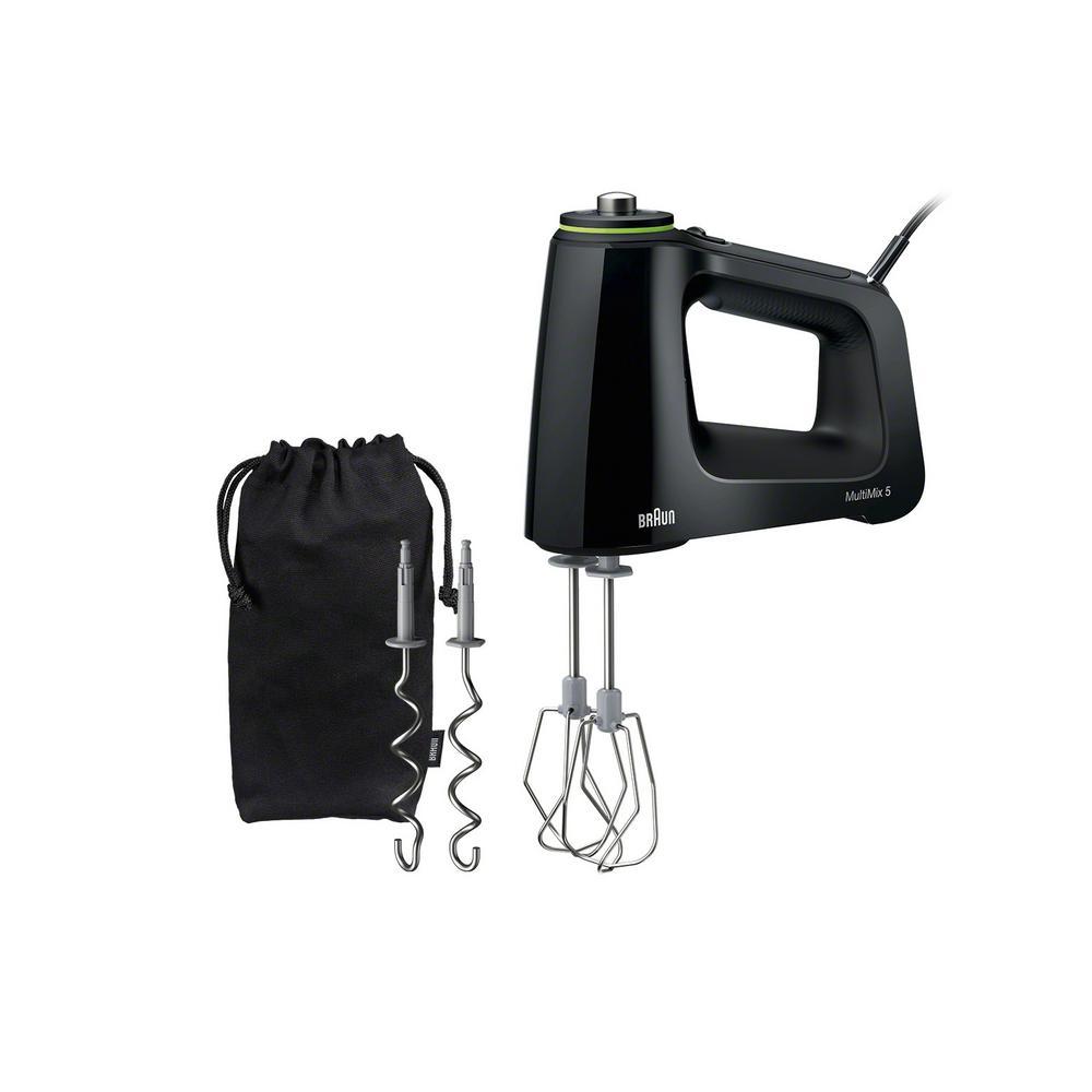 Braun MultiMix 50-in Cord 9-Speed Black Hand Mixer | HM5100