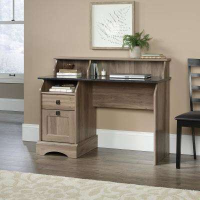 Graham Hill Salt Oak Desk with File Drawer