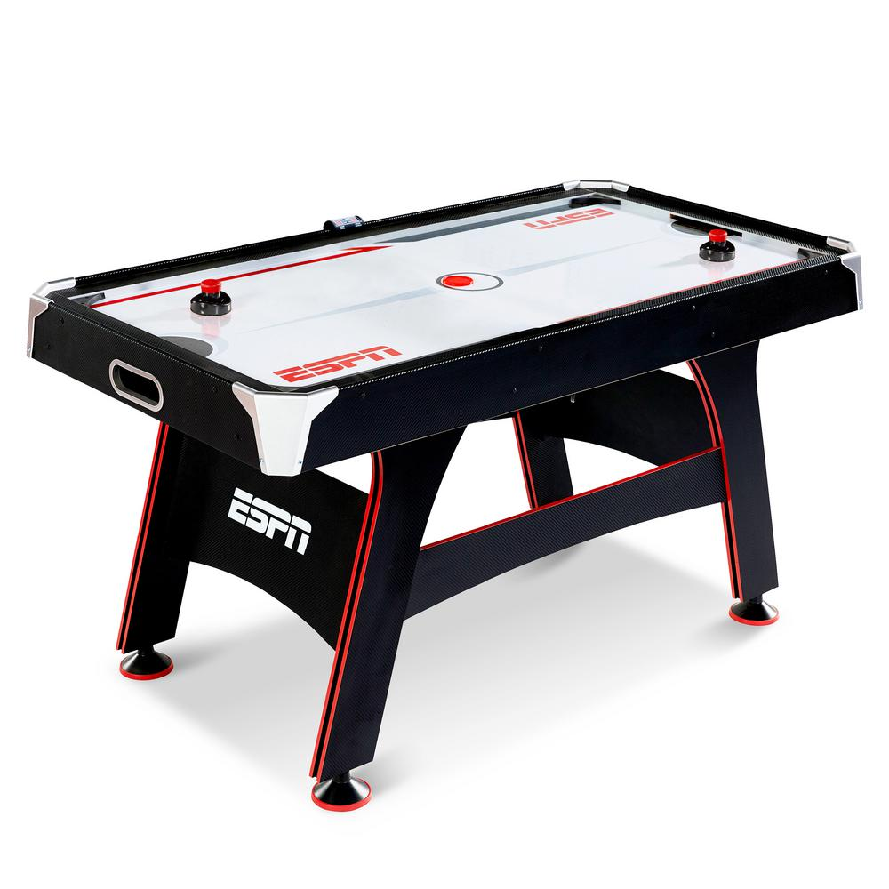 ESPN 5 ft  Air Hockey Table with Led Electronic Scorer