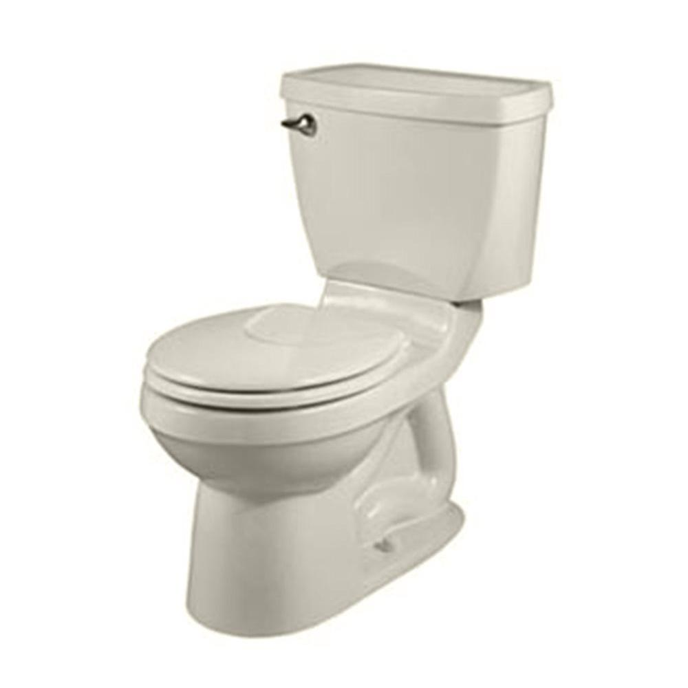 American Standard Champion 4 2-piece 1.6 GPF Round Front Toilet in Linen-DISCONTINUED