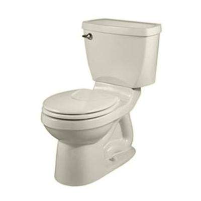 Champion 4 2-piece 1.6 GPF Round Front Toilet in Linen