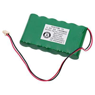 Dantona 7.2-Volt 1800 mAh Ni-Mh battery for Ademco - Lynx Back Up Emergency Lighting